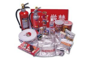 深沢消防産業株式会社は地域の自主防災機材から個人の非常持ち出し袋まで防災用品全般を取り扱っております。